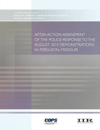 Download After-Action Assessment of the Police Response to the August 2014 Demonstrations in Ferguson, Missouri PDF