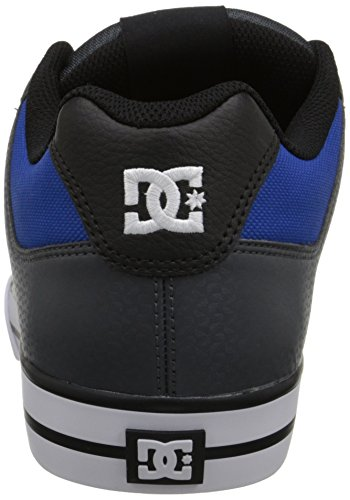 DC Herren Pure Action Sport Sneaker Grau / Royal
