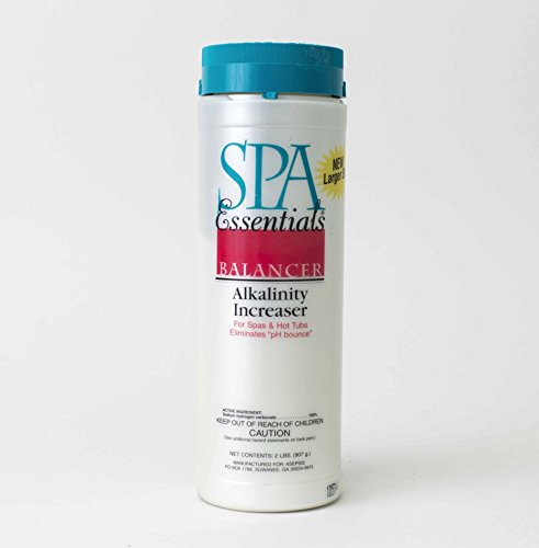 Spa Essentials 32538000 Total Alkalinity Increaser Granules for Spas and Hot Tubs, 2-Pound by Spa Essentials