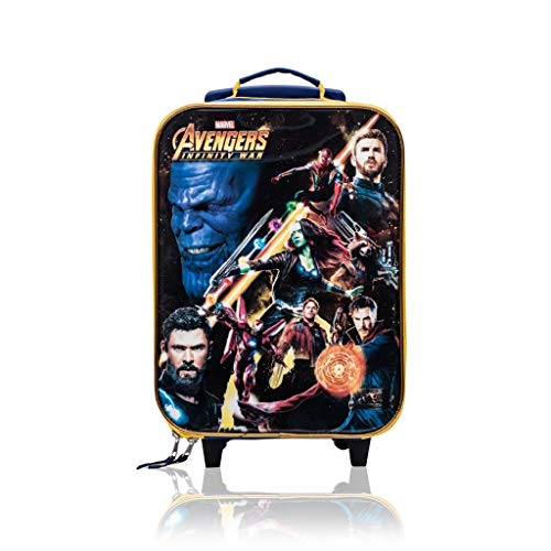Marvel Avengers Trolley Soft Side Luggage Case for Kids - 16 ()