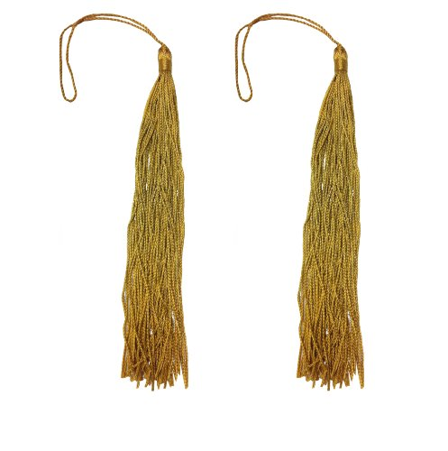 Graduation Insignia Cords Gold Tassels 8 Inch 5