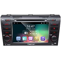 Eonon GA7151 Android 6.0 Car DVD Player Special for Mazda3 2004-2009 Quad Core Marshmallow In Dash GPS Radio Stereo 7 Inch 2 DIN Touch Screen Bluetooth 4.0 Subwoofer Volume Control