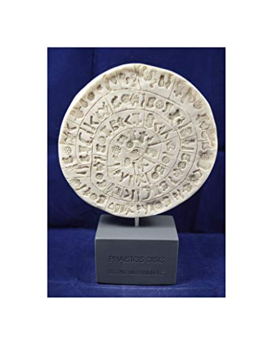 - Estia Creations Phaistos disc Sculpture Museum Reproduction Artifact