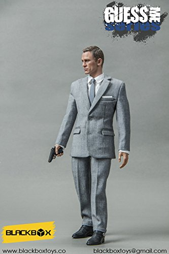 Blackbox Toys Guess Me Series 007 Agent James Bond Grey Suit