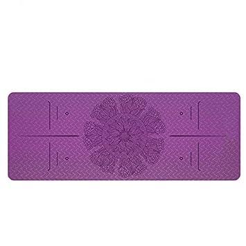 Baibian TPE Yoga Mat 183 * 80Cm * 6Mm Respetuoso del Medio ...