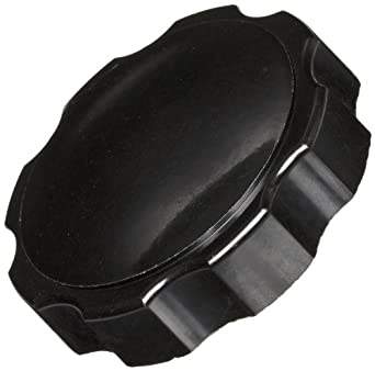 "DimcoGray Black Phenolic Fluted Torque Knob Female, Brass Insert: 3/8-16"" Thread x 1/2"" Depth, 2 3/8"" Diameter x 13/16"" Height x 1-1/4"" Hub Dia x 5/8 Hub Length (Pack of 10)"