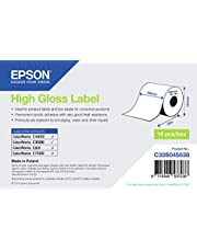 Epson C33S045538 etiqueta de impresora - Etiquetas de impresora (Epson TM-C3400 Epson TM-C3400-LT Epson TM-C3400BK - Ethernet Epson TM-C3400BK - USB, 102mm x 33m)