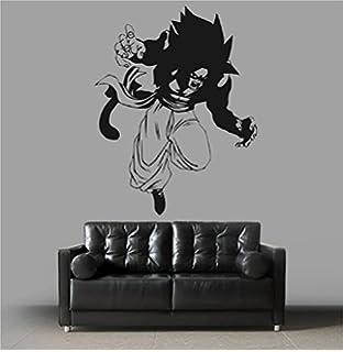 Amazoncom Dragon Ball Z Broly Legendary Saiyan Anime Manga Decor - Dragon ball z wall decals