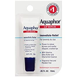 Aquaphor Lip Repair Ointment – Long-Lasting Moisture to Soothe Dry Chapped Lips