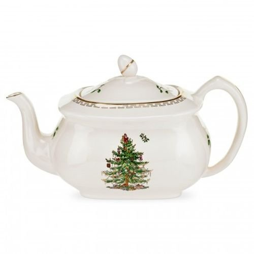 Spode Christmas Tree Gold Teapot -
