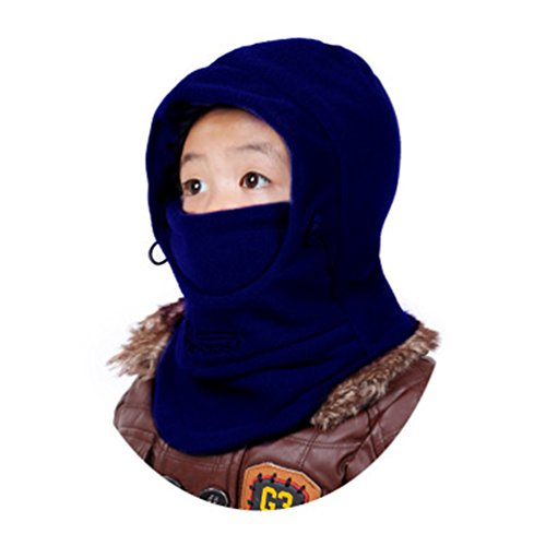 Childrens Winter Windproof Thick Adjustable