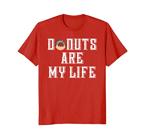 Mens Funny Cute Donut T Shirt - Clever Sweet Tooth Foodie Gift Small (Clever Sweet)