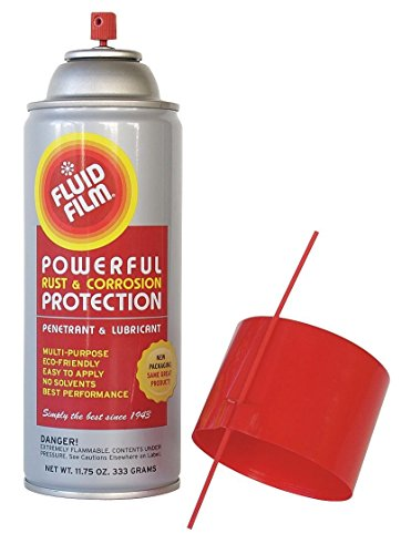 Fluid Film FLUIAS11 Lubricant/Corrosion Inhibitor, 11.75 oz, 12', Orange