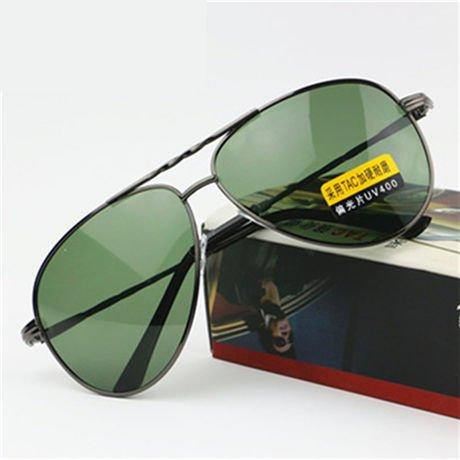 Lente de Marca Polarizado la de Conducción de Gafas Green Conducción Gafas Diseñador Nocturna Gafas Mens Sol Amarillo Hombres Visión Deslumbramiento Oro Reducir GGSSYY Nocturna zwOqPP
