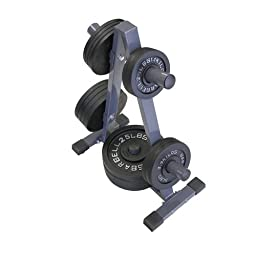 Amber Sports Olympic Weight Plate Tree