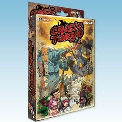Crisis Tokyo Board Game by Ninja Division: Amazon.es ...