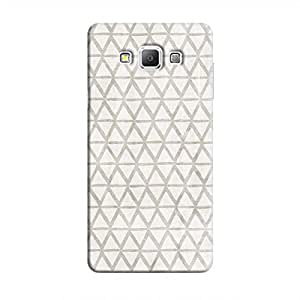 Cover It Up - Triangle Print Grey Galaxy A5 Hard Case