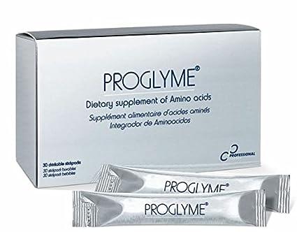 Aminoácidos para la activación de la síntesis del colágeno. Proglyme de Professional Derma.