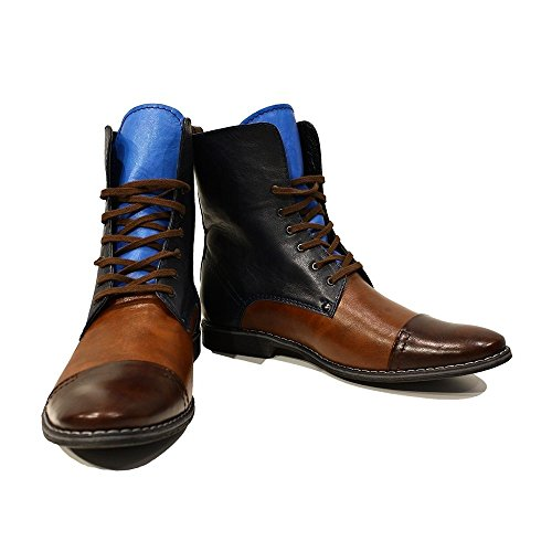 Italian Leather Modello Boots PeppeShoes Smooth High Mens Lace Cowhide Leather Up Handmade Sciabole Colorful IwtWWdqCn