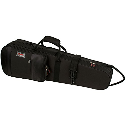 - Protec MX044 4/4 Violin Shaped MAX Case, Black