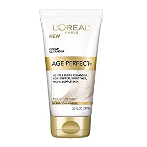 L'Oreal Paris Age Perfect Facial Cream Cleanser, 5 F Oz (Pack of 2)