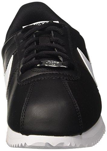 Scarpe Basse White Nero NIKE 001 Black da Ginnastica Cortez GS SL Uomo Basic wPgqI0