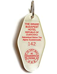 The Grand Budapest Hotel Room # 142 Republic of Zubrowka GBH Inspired Key Tag