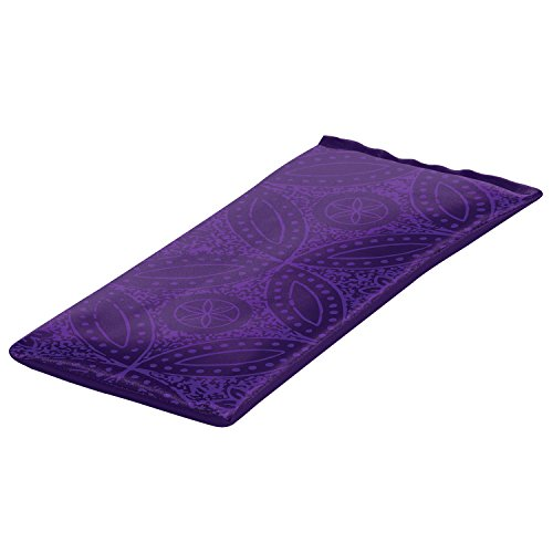 Gaiam Yoga Pillow Purple Batik