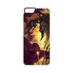Diablo III iPhone 6 Plus 5.5 Inch Cell Phone Case White 53Go-338536