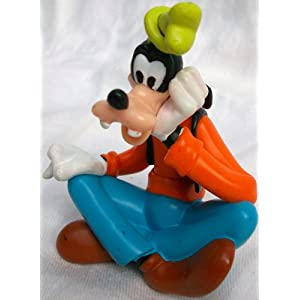 3.5″ Disney Mickey Mouse Goofy Pvc Figure Doll Toy, Cake Topper