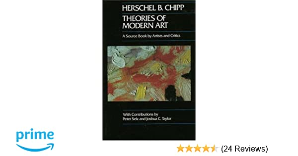 Amazon Com Theories Of Modern Art A Source Book By Artists