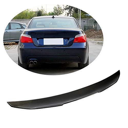 MCARCAR KIT Trunk Spoiler fits BMW 5 Series E60 M5 Sedan 2004-2010 Factory Outlet Carbon Fiber CF 520i 523i 525i 528i 530i 535i 540i 545i 550i M Sport Car Rear Boot Lid Spoiler Wing Lip