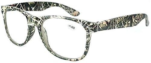 2.00 Big Buck Wear Camouflage Men's Reading Glasses Eyeglasses Camo (Glasses Wear Reading)