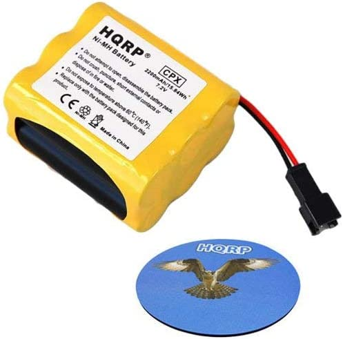 fits Tivoli PAL Radio plus HQRP Coaster HQRP Extended 2200mAh Battery for Tivoli Audio Battery Pack MA-2 MA-3 Replacement