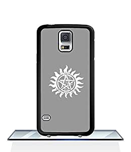 JenniferLi - Cool Funda Case for Samsung Galaxy S5 i9600 Supernatural Logo Movie Snap On Personalized Slim High Impact Drop Proof Creative