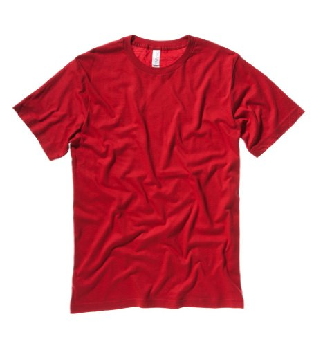 Modisches T-Shirt 'The Perfect Tee', Farbe:Red;Größe:XS XS,Red