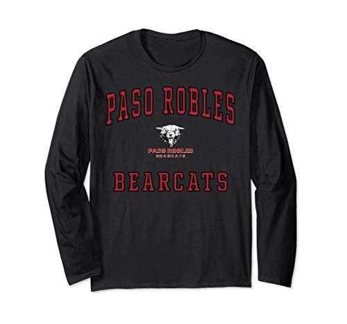 Paso Robles High School Bearcats Long Sleeve T-Shirt C1