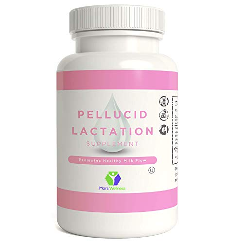 Pellucid – All Natural Herbal Lactation and Breastfeeding Supplement – Increases Breast Milk Supply