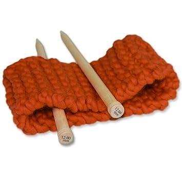 designer fashion high fashion sale retailer Kit de Tricot pour Adulte Débutant. Tricotez votre 1er Headband en Grosse  Laine. Aiguille à Tricoter en Bois de 15mm. Bandeau Cheveu à Tricoter. ...