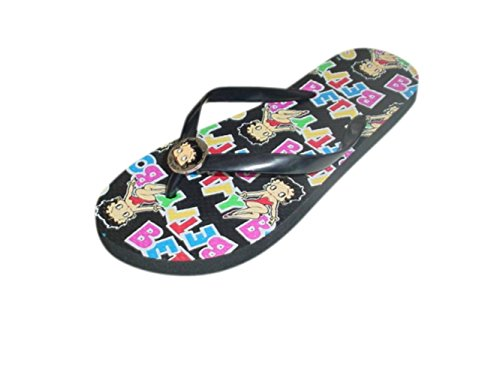 Betty Boop Dames Slipper Sandalen String Booppoten & Letters