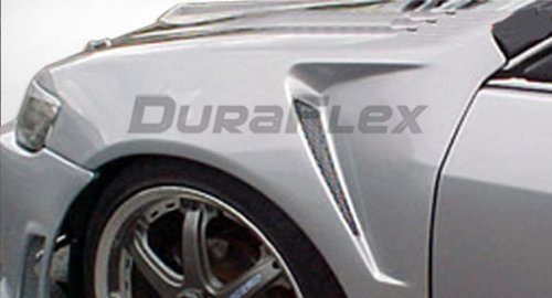 2000-2005 Dodge Neon Duraflex F-1 Fenders - Duraflex Body Kits