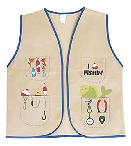 Nikki's Knick Knacks Children's Little Fisherman Costume Dress Up Vest -