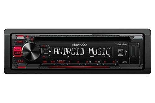 Kenwood KDC-115U in-Dash 1-Din Car CD Player Receiver Stereo - Kenwood Player Cd Indash