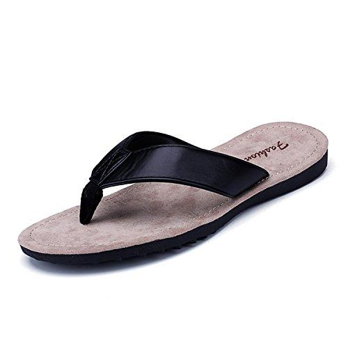 Voen Sandali Infradito Per Uomo Leggero Antiurto Sportivo Infradito Pantofole Nere