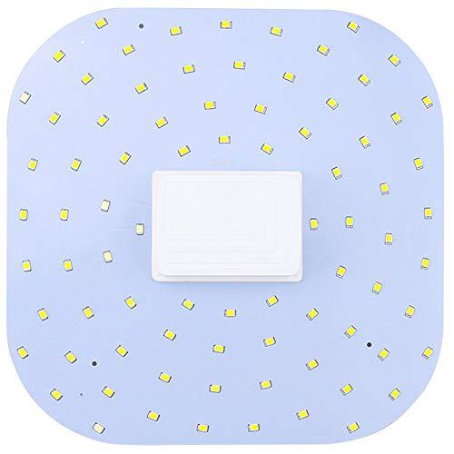 Luxvista 2D LED GR10q 4 Pin Square Light Bulb 18 Watt Daylight 2D/4P Bulbs, 28W 2D Linear Compact Fluorescent Bulb Equivalent, GR10Q Base 2D LED Lamp for Living Room Bathroom Lighting (Remove Ballast)