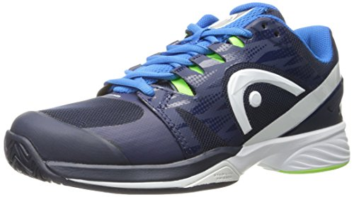 Head Men's Nitro Pro Tennis Shoes (Navy/Ocean Blue) (8.5 D(M) US) (Shoes Mens Pro Tennis)