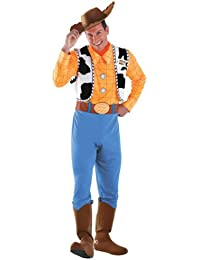 Toy Story Men's Woody Deluxe Adult