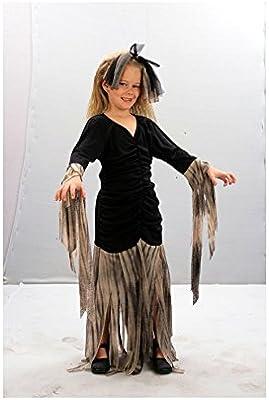 Disfrazzes - Disfraz de zombie para niñas de 7-9 años: Amazon.es ...