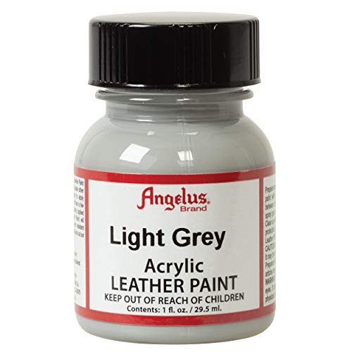 Angelus Acrylic Leather Paint, Light Gray, 1 oz. ()