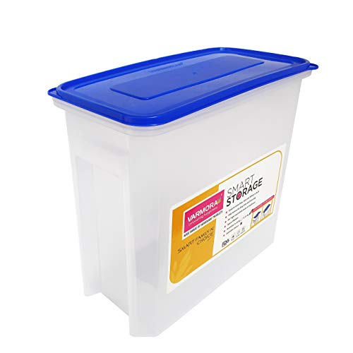 Varmora Smart Storage 15 Kg. Plastic Container -Blue (Pack of 1) Price & Reviews